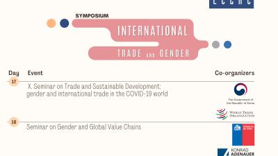 Tres jornadas sobre comercio internacional e igualdad de género