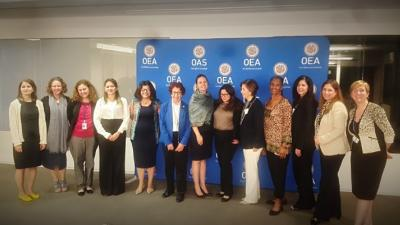 Second working meeting of the Inter-American Task Force on Women's Empowerment and Leadership