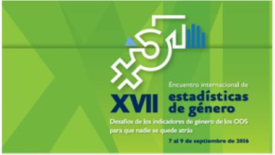 XVII Encuentro Internacional de Estadísticas de Género