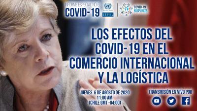 Banner anuncio Informe Especial COVID-19 No. 6 de la CEPAL