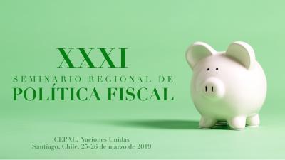 Banner XXXI Seminario Regional de Política Fiscal