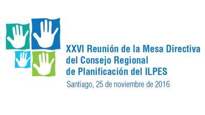 Banner de la XXVI Reunión de la Mesa Directiva del Consejo Regional de Planificación.