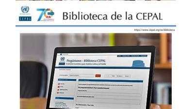 Teletrabajo en Biblioteca de la CEPAL