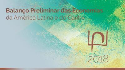 banner informe Balance preliminar portugués