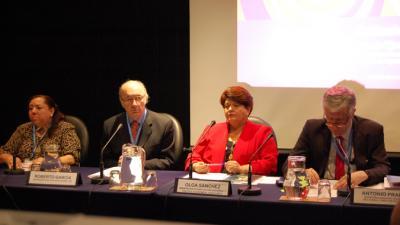 Imagen de la inauguración del seminario de REDEPLAN.