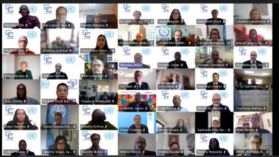 Foto grupal reunión CARICOM-ONU