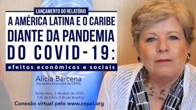 Invitacao Alicia Bárcena conferencia de imprensa 3 abril