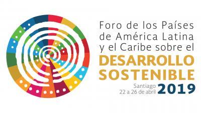 Banner tercera reunión Foro de los Países ALC sobre el Desarrollo Sostenible (2019)