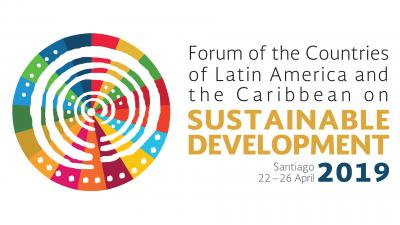 Banner third meeting Forum of the Countries of Latin America and the Caribbean on Sustainable Development
