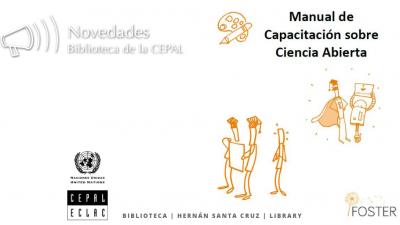 Cubierta Manual de Capacitación FOSTER sobre Ciencia Abierta