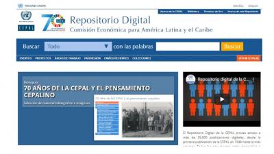 Repositorio Digital interfaz en español