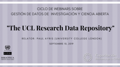 Webinar UCL Research data Repository