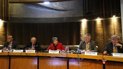 Imagen de la inauguración de la decimosexta reunión del Comité Ejecutivo de la Conferencia Estadística de las Américas.