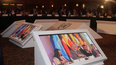 Imagen de la sala plenaria de la segunda reunión de la Conferencia Regional sobre Población y Desarrollo.