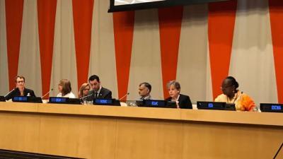 Los foros regionales ofrecen una plataforma para la discusión franca sobre los ODS, planteó Alicia Bárcena en el evento realizado en Nueva York.