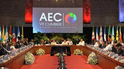 The VII summit of the Association of Caribbean States (ACS).