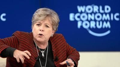 foto de Alicia Bárcena, Executive Secretary of ECLAC.