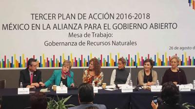 reunión gobierno abierto México