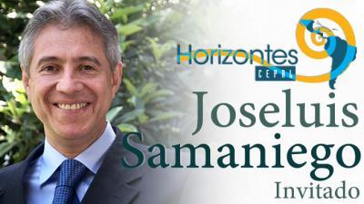 Imagen de Joseluis Samaniego, Director de la División de Desarrollo Sostenible y Asentamientos Humanos de la CEPAL.