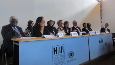Evento paralelo de las comisiones regionales de la ONU en Habitat III.