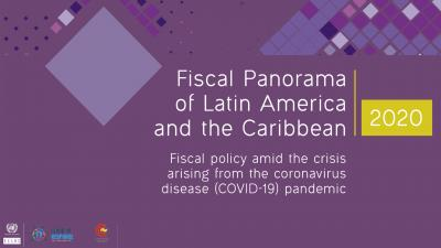 Banner Fiscal Panorama of Latin America and the Caribbean 2020