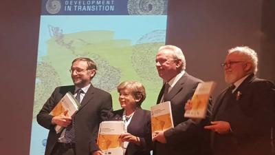 Presentación del informe LEO 2019, realizada en Buenos Aires en el marco de la Conferencia PABA+40