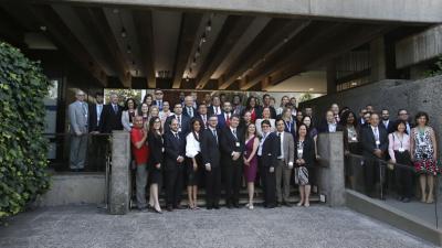 Foto grupal de los delegados asistentes a la Octava Reunión del Comité de Negociación del Acuerdo Regional sobre el Principio 10