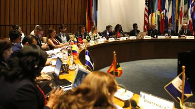 General photo of the eighth meeting on Principle 10