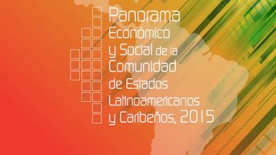 Portada de documento Panorama económico y social CELAC 2015.