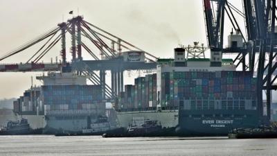 Foto de un puerto (crédito Agencia EFE)