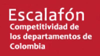 Escalafón de la competitividad de los departamentos en Colombia