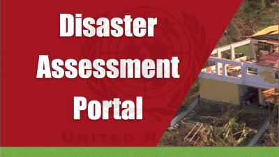 Banner Disaster assessment portal