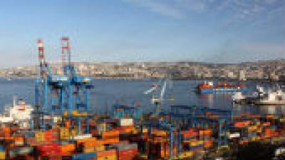 Imagen de un puerto