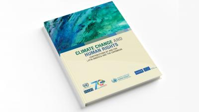Cover book Climate Change and Human Rights