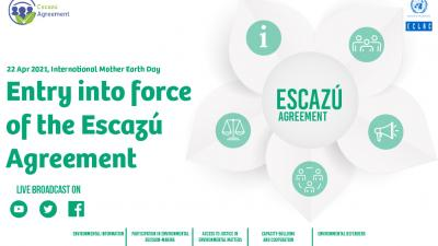 Image event entry into force of the Escazú Agreement