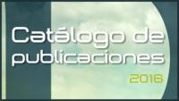 Catalogo de Publicaciones 2016