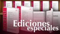 Imagen de banner con ediciones especiales de revista CEPAL