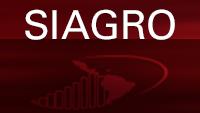 Imagen con las iniciales del Sistema de información agropecuaria de Centroamérica, la República Dominicana, México, Haití y Cuba (SIAGRO)