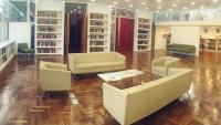 Sala de lectura de la Biblioteca