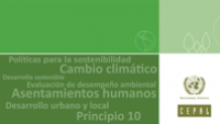 Selección temática Desarrollo sostenible