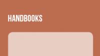 Banner Handbooks