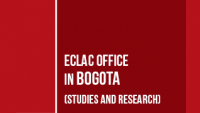 Banner ECLAC office in Bogota