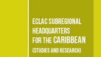 Banner ECLAC subregional headquarters for the Caribbean