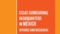Banner ECLAC subregional headquarters in Mexico