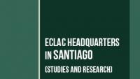 Banner ECLAC headquarters in Santiago