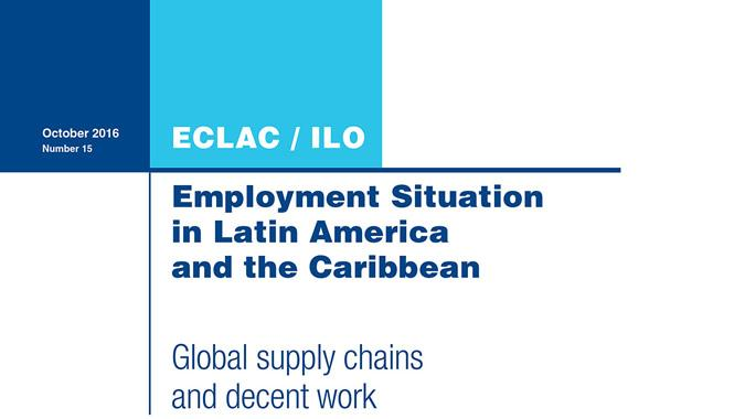 Cover employment situation bulletin ECLAC/ILO