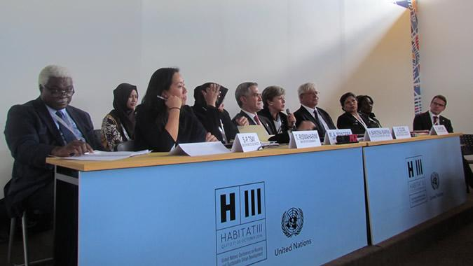 Side event of the UN regional commissions in Habitat III.