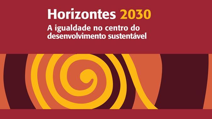 Portada documento CEPAL Horizontes2030.