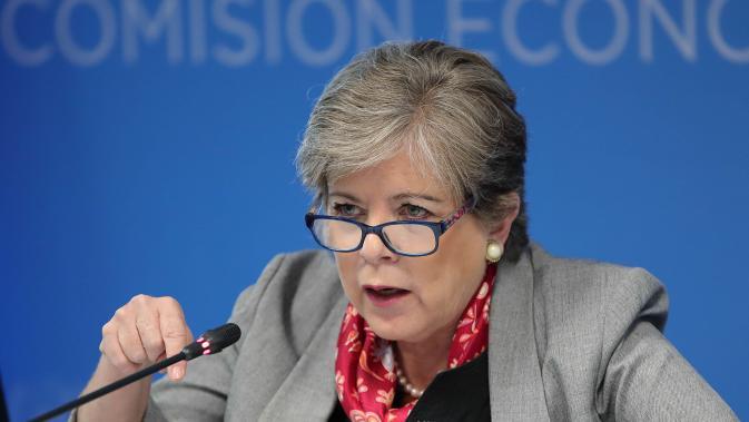 Imagen de Alicia Bárcena, Secretaria Ejecutiva de la CEPAL.