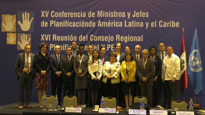 XVI Meeting of the Regional Council for Planning.
